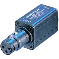 Adaptador Impedancia Neutrik NK-NADITBNC-FX