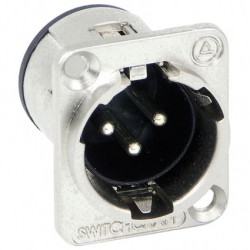 Conector Audio Xlr Switchcraft SW-E3MSC