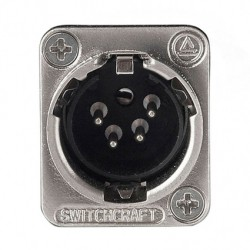 Conector Audio Xlr Switchcraft SW-E4MSC