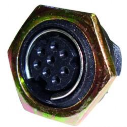Conector Mini Din Percon 6017-M