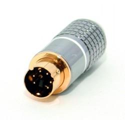 Conector Mini Din Percon 6020-M