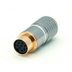 Conector Mini Din Percon 6024-M