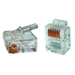 Conector Red Rj Percon 4001-I