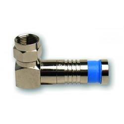 "Conector Radiofrecuencia tipo ""F"" Platinum PLT-18001RA"