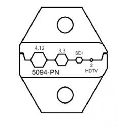 Matriz SDI/HDTV para herramienta 5095-PN