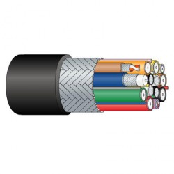 Cable Cámara Multicore Percon VK 7124