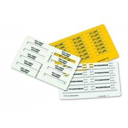 Etiqueta marcaje para soportes Percon 8904-M