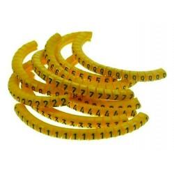 Marcador cerrado de 1 dígito 4.8/8.0 Percon 8906-M/8