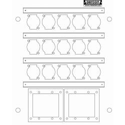 Placas Percon WB100-15XLR-2TS