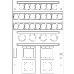 Placas Percon WB200-25XLR-4T-2S-2A