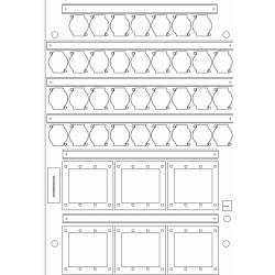 Placas Percon WB200-34XLR-6TSA