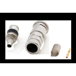 BNC 75 ohms - HDTV / MBAP (3G - SDI) Conector PERCON 5035-HDTV/MBAP Male