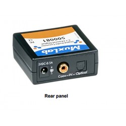Digital audio converter Dolby® digital Muxlab/500081