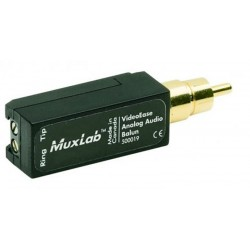 Analog audio balun Muxlab/500019
