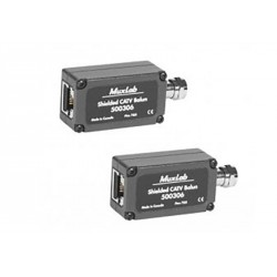 Shielded CATV balun 2 Pack Muxlab/500306-2PK