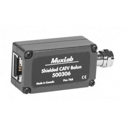 Shielded CATV baluN Muxlab/500306