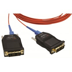 One (1) fiber Detachable DVI Module Opticis-DVFX-100-TR