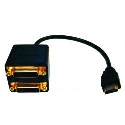 Conexión Splitter Percon PC-8407