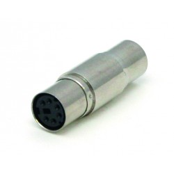 Adaptador Mini Din Percon 6026-M