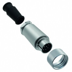 Round connector Hirose HRS-RM15TPD-12P