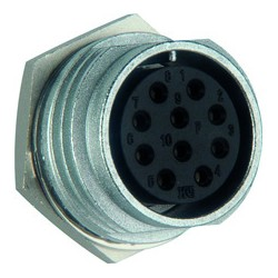 Round connector Hirose HRS-RM15TRD-12P
