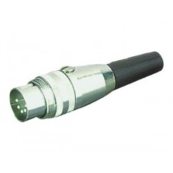 Din multipin round Video connector Percon 1022-D
