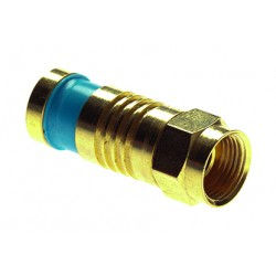 "Sealsmarts coax compression ""F"" Video Connectors Platinum PLT-18015"