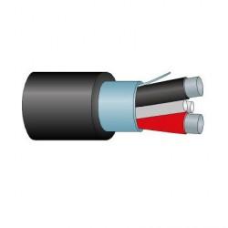 Cable Audio Altavoz Trenzado con cubierta apantallado AL Percon AL 225