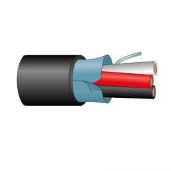 Cable Audio Altavoz Trenzado con cubierta apantallado AL Percon AL 325