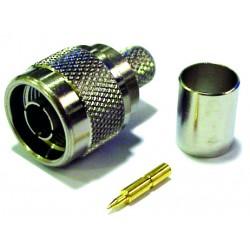 """Conector RF tipo """"N"""" PERCON 5197-V"""