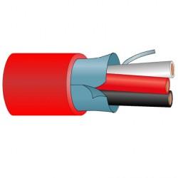 Cable AudioTrenzado con cubierta Resistente al fuego AL Percon AL 325 FIRE