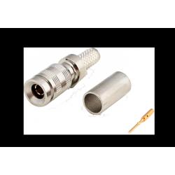 DIN 1.0/2.3 75 ohms (UHD-1 / 4K) Conector PERCON 5302-HD/SILVER+ Male