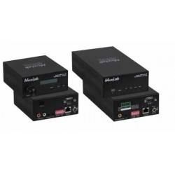 AUDIO/AMP Over IP POE extender kit with MIC Muxlab/500755