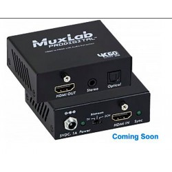Hdmi to Hdmi with audio extraction, 4K/60 Muxlab/500436