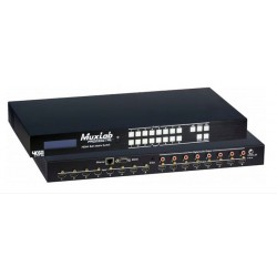 Hdmi 8X8 Matrix switch, HDBT, PoE Muxlab/500469