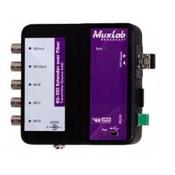 6G-SDI Extender over fiber optic with return channel Muxlab/500734