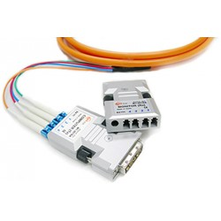 Four (4) fiber Detachable DVI Module Opticis-M1-201-SA-TR